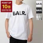 BALR. ボーラー Brand straight t-Shirt B1112.1048 カラー2色 クルーネック 半袖 Tシャツ カットソー ロゴT メンズ