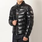 MONCLER モンクレール ダウンジャケット メンズ BAUNARD BIKER バイカー 1A00004 68950 999/ブラック ナイロン ブルゾン ロゴ