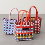 MARNI KIDS マルニ キッズ M00178 M00IW カラー5色 ウーブン ハンドバッグ バスケットバッグ かごバッグ カゴバッグ ロゴ 鞄 レディース