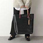 MARNI マルニ SHMQ0000A3 P3572 PVC TRIBECA バーチカル ショッピングバッグ トートバッグ 鞄 Z3O03 レディース