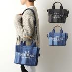 MARC JACOBS マークジェイコブス H016M06FA21 カラー2色 THE DENIM MINI TOTE BAG トートバッグ ショルダーバッグ ロゴ刺繍 鞄 レディース