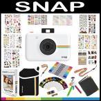 ポラロイドカメラ Polaroid Snap Instant Digital Camera (White) with ZINK Zero Ink Printing Technology
