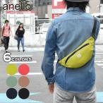 ボディバッグ ボディーバッグ メンズ おしゃれ ファニーパック ポリツイル/anello アネロ AT-B2021 SPLASH ウエストミニバッグ 正規品 ブランド