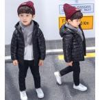 中綿コート 女の子 子ども 子供服 ショート 男の子 ダウンジャケット アウター 秋 冬 フード付き ジュニア 防寒