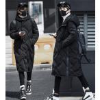 ダウンジャケット メンズ ロング ダウンコート フード付き 暖かい ライトアウター コート 秋 冬 防寒服 カジュアル