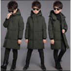 防寒コート 中綿コート 男の子 ダウンジャケット フード付き ロング ダウンコート キッズ ロングコート 子ども用  ジュニア コート 防寒着