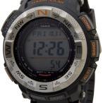 クリスマスセール カシオ CASIO PRO TREK プロトレック PRG-260-1DR プロトレック ソーラー海外モデル トリプルセンサー ブラック メンズ 腕時計