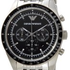 エンポリオ アルマーニ EMPORIO ARMANI メンズ 腕時計 クロノグラフ ブラック AR5988 メンズ ARMANI ブランド