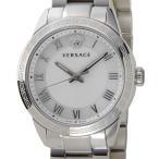 ヴェルサーチ VERSACE レディース 腕時計 P6Q99FD002S099 クォーツ ホワイトシェル/シルバー