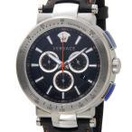 クリアランスセール ヴェルサーチ VERSACE メンズ 腕時計 VFG040013 ミスティック スポーツ クロノグラフ ブラック 新品 送料無料