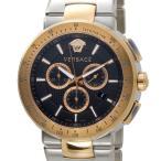 ヴェルサーチ Versace メンズ 腕時計 VFG100014 ミスティック スポーツ クロノグラフ ブラック×ローズゴールド