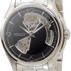 ハミルトン HAMILTON H32565135 ジャズマスター ビューマチック オープンハート 自動巻き ブラック×シルバー メンズ腕時計 ブランド