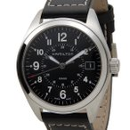 ハミルトン HAMILTON H68551733 カーキ フィールド クォーツ ブラック メンズ 腕時計
