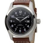ショッピングハミルトン ハミルトン HAMILTON 腕時計 メンズ H70555533 カーキ フィールド オート ブラック×シルバー ブラウンレザー 新品 送料無料