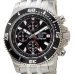 在庫処分 原価処分品 メンズ腕時計 クロノグラフ ビッグフェイス ブラック×レッド クォーツ モンテスピガ monteSPIGA ブランド 送料無料 新品