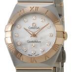 オメガ OMEGA コンステレーション ブラッシュ クオーツ レディース 腕時計 PG×SS 12Pダイヤ 123.20.24.60.55.001 ブランド