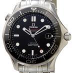 オメガ OMEGA 212.30.41.20.01.003 シーマスター ブラック メンズ 腕時計