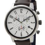 ポールスミス Paul Smith 腕時計 メンズ BR4-012-10 チャーチ ストリート クロノグラフ アイボリー×ブラウンレザー ブランド 信頼の日本製