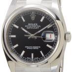 ロレックス ROLEX 116200 BK デイジャスト ブラック メンズ 腕時計 116200 ブランド 送料無料 新品