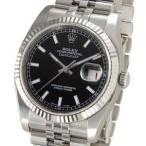 ロレックス ROLEX 116234 BK デイトジャスト ブラック メンズ 腕時計