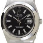 ロレックス ROLEX 116300 BK デイトジャストII ブラック メンズ腕時計 ブランド