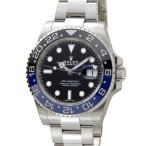 ロレックス ROLEX GMTマスターII 116710 BLNR 黒×青 メンズ 腕時計