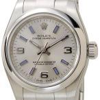 ロレックス ROLEX 176200 SV-AR-BL オイスターパーペチュアル シルバー レディース 腕時計 ブランド