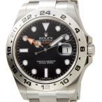 ロレックス ROLEX 216570 BK エクスプローラーII 新型 ブラック メンズ EXPLORER 腕時計