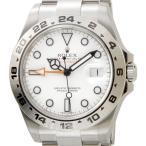 ロレックス ROLEX 216570 WT エクスプローラーII 新型 ホワイト メンズ EXPLORER 腕時計 ブランド 送料無料 新品