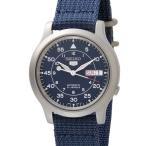 セイコー5 SEIKO5 腕時計 時計 メンズ ミリタリー ブルー SEIKO SNK807K2 セイコーファイブ