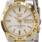 セイコー SEIKO SEIKO5 セイコーファイブ SNKE04J1 ホワイト×ゴールド メンズ腕時計 セイコーウオッチ ブランド 新品 送料無料