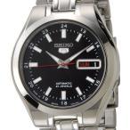 セイコー SEIKO セイコーファイブ SEIKO5 腕時計 自動巻き SNKG23J1 ブラック メンズ セイコーウオッチ