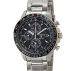 セイコー SEIKO メンズ 腕時計 SSC009P1 SOLAR CHRONOGRAPH ソーラー クロノグラフ パイロットクロノ ブラック×シルバー ブランド