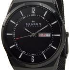 スカーゲン SKAGEN メンズ 腕時計 SKW6006 Aktiv Mesh Titanium アクティブ メッシュ チタニウム ブラック ブランド