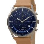 スカーゲン SKAGEN 腕時計 SKW6285 ホルスト ワールドタイム ブルー メンズ 時計 新品 送料無料