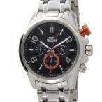 テクノス TECHNOS メンズ 腕時計 T6343SO クロノグラフ クオーツ オールステンレス 限定モデル ブラック  ブランド