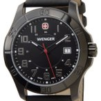 ウェンガー WENGER 70475 メンズ腕時計 ALPINE アルバイン ブラック ミリタリー アウトドア ブランド ブランド 送料無料 新品