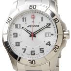 週末セール ウェンガー WENGER 70489 メンズ腕時計 ALPINE アルバイン ホワイト/シルバー ミリタリー アウトドア DEAL-SP 新品 送料無料