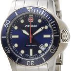 ウェンガー WENGER 72338 レディース時計 バタリオン 200m防水 ブルー/シルバー ミリタリー アウトドア ブランド ブランド 送料無料 新品