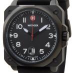 ウェンガー WENGER 72424 メンズ腕時計 エアログラフコクピット ブラック ミリタリー アウトドア ブランド ブランド 送料無料 新品