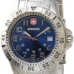 ウェンガー WENGER 72618 メンズ腕時計 マウンテイナー ブルー/シルバー ミリタリー アウトドア ブランド ブランド
