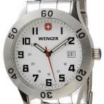 ウェンガー WENGER メンズ腕時計 フィールドグレネーダー 72969 ホワイト/シルバー ミリタリー アウトドア ブランド ブランド