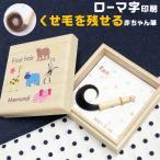 ショッピング赤ちゃん 赤ちゃん筆 くせ毛を残せる 胎毛筆 プチボックス お仕立て券