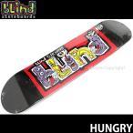 ブラインド ハングリー 【BLIND HUNGRY】 スケートボード スケボー デッキ 板 初心者 プロ ストリート カラー:Blk/Red サイズ:7.75 x 31.2