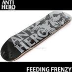 アンタイヒーロー フィーディング フリンジー 【ANTIHERO FEEDING FRENZY】 スケート デッキ ストリート パーク 初心者 プロ カラー:BLACK/GRY サイズ:8.25 x 32