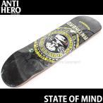 アンタイヒーロー スケート オブ マインド 【ANTIHERO STATE OF MIND】 スケートボード デッキ DECK カラー:Trujillo サイズ:8.75 x 32.6