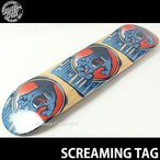 サンタクルーズ スクリーミング タグ 【SANTACRUZ SCREAMING TAG】 スケートボード デッキ 板 ストリート カリフォルニア ジム フィリップス サイズ:7.6x31.5