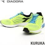 ショッピングディアドラ ディアドラ クルカ diadora KURUKA メンズ スニーカー ランニング ジョギング トレーニング マラソン イタリア カラー:イエローFL