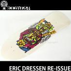 ドッグタウン エリック ドレッセン リイシュー 【DOGTOWN ERIC DRESSEN RE-ISSUE】 スケートボード デッキ オールドスクール カラー:P.White サイズ:10x30.75