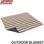 コールマン アウトドア ブランケット COLEMAN OUTDOOR BLANKET 寝具 アウトドア 防寒 OUTDOOR カラー:RAINBOW サイズ:200cmx170cm